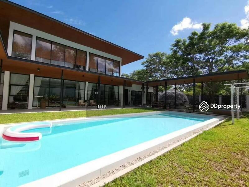 บ้านโมเดิร์นพร้อมสระว่ายน้ำส่วนตัวให้เช่า เดือนละ 80,000 บาท ไม่ไกลจากเซ็นทรัลเฟสติวัล No.12H054 #80190457