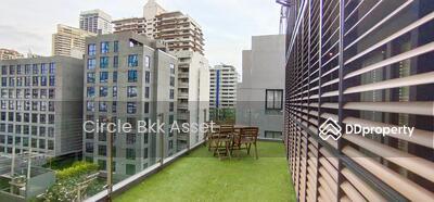 ให้เช่า - For rent 75, 000 Baht/ month with private terrace! ! 350 M. to BTS Asoke