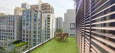 For Rent - For rent 75, 000 Baht/ month with private terrace! ! 350 M. to BTS Asoke