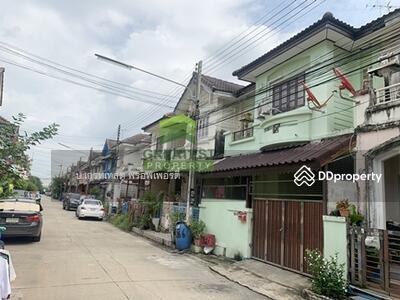 For Sale - หมู่บ้าน วรางกูล รังสิต-คลอง 3 ขายด่วน ทาวน์เฮ้าส์ 2 ชั้น เนื้อที่ 18. 40 ตร. ว รังสิต-นครนายก 68 ต่อเติมเต็มพื้นที่ พร้อมอยู่อาศัย