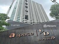 ขาย - ราคานี้ หาที่ไหนไม่ได้อีกแล้ว ! !! !  มีที่ อยู่เย็นเท่านั้น   A Space I. D. Asoke-Ratchada  ราคานี้ได้ ห้องทิศใต้ ไม่มีตึกบัง ห้องแต่งสวยสุดยอด! !! !! !