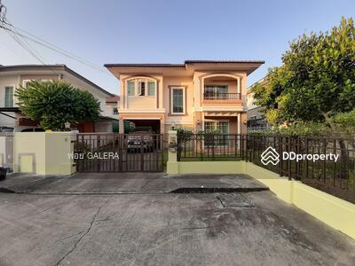 For Sale - ขายด่วนบ้านเดี่ยว 2 ชั้น ม. ภัสสร 19  วัชรพล – วงแหวน  หลังมุม สภาพดี
