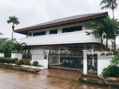 For Sale - ขายบ้านเดี่ยว ซอยพัฒนาการ 74 หมู่บ้านเมืองทอง 2/1 เนื้อที่ 99 ตร. ว. หลังมุม พร้อมอยู่