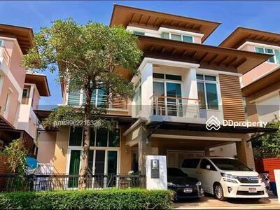 For Sale - express! Single house, Primaree Prestige Village Ratchada-Ramindra Road, 5 bedrooms, 5 bathrooms, 350 sq m area, 52 3. 5 floors, sale 13. 5 million baht @LINE: 0962215326 Khun On