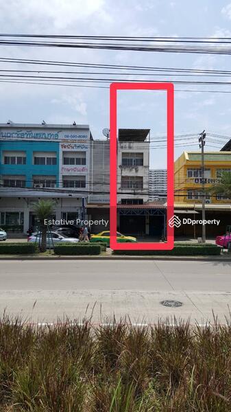 อาคารพาณิชย์ ฝั่งตรงข้ามโรบินสันศรีสมาน ถนนประชาชื่น ปากเกร็ด #80446851