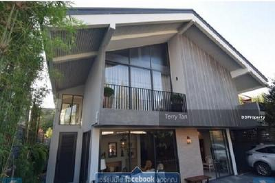 ให้เช่า - For Rent ให้เช่า บ้านตกแต่งสวยสไตล์ ในซอยสุขุมวิท 65  พร้อมสระว่ายน้ำส่วนตัว ( PST-EVE127 )