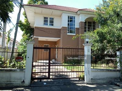 For Sale - express! Lalin Green Ville House Ramintra-Watcharaphon, 3 bedrooms, 2 bathrooms, floor area, usable area, 160 sq m, area 55. 5 sq m, sale 3. 7 MB @LINE: 0962215326 Khun Khai