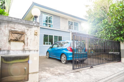 For Sale - For SALE- 2-storey detached house, 15 mins to Suvarnabhumi Airport- 3 beds, 3 baths, Land & Houses housing quality at lower prices