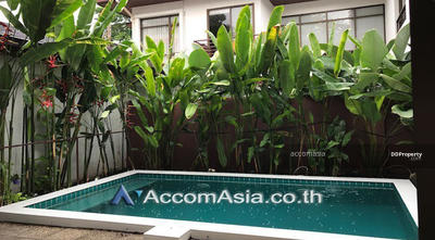 ให้เช่า - House 3+1 Bedroom For Rent BTS Phrom Phong in Sukhumvit Bangkok ( 1912033 )