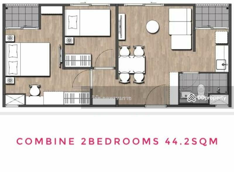 พลัมคอนโด พาร์ค รังสิต เฟสแรก 2 ห้องนอน ห้องใหม่ๆ 0840811141