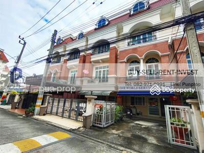 For Sale - ขายทาวน์โฮม 3 ชั้น หมู่บ้าน คาซ่า ซิตี้ นวลจันทร์ 1 พื้นที่ 23. 6 ตรวา 3 นอน 4 น้ำ 5. 19 ล้าน