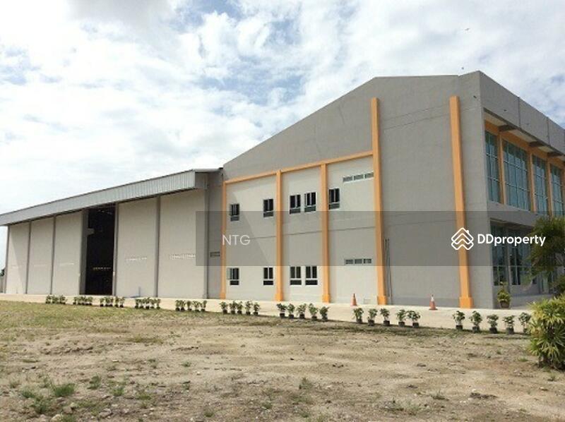 โรงงานสำเร็จรูปพร้อมสำนักงาน ติดโครงข่ายระบบโลจิสติกส์สุวรรณภูมิ #80830435