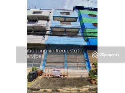 For Sale - express! Commercial building near the Orange Line, Sukhaphiban 3 Road, Ramkhamhaeng 104, 1 bedroom, 4 bath, 4 storey area, usable area 282 sq m, area 16 sq m, sale 6. 9 MB @ LINE: 0962215326 Khun Miu