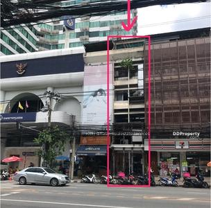 For Sale - express! Commercial building away from Thonglor bts station, 1 bedroom, 2 bath, 5 floors, usable area 352 sq m, area 16 sq m, sale 45 min.
