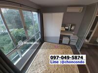 ขาย - ขายถูก D Condo บางแสน ชั้น3 ตึกA ชลบุรี Tel/Line 097-049-5874