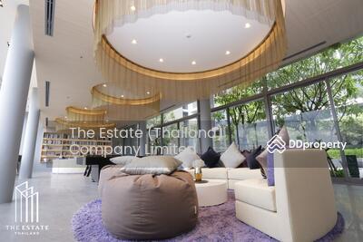 ให้เช่า - RENT *Whizdom Connect ห้องชั้นสูง ทิศเหนือ แต่งสวย พร้อมเข้าอยู่่ @17, 000 Baht