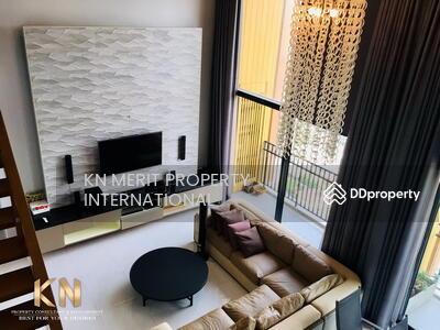 ขาย - ขายคอนโด สุดหรู ย่านลาดพร้าว The issara ladprao ขาย ห้อง Duplex 3 ห้องนอน 3 ห้องน้ำ ขนาด 193 ตารางเมตร ชั้น 42 ตกแต่งสวย