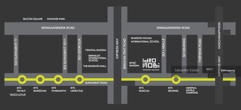 IDEO MOBI สุขุมวิท อีสท์เกต (ไอดีโอ โมบิ สุขุมวิท อีสท์เกต) #80979663