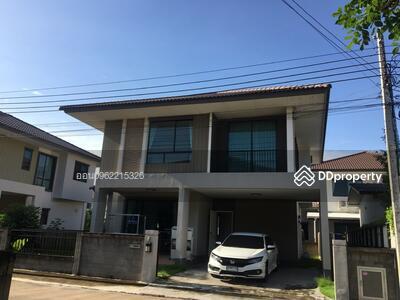 For Sale - express! Golden Village Village, King Kaew Road - Bangna, 4 bedrooms, 3 bathrooms, area 163 sq m, area 50. 6 sq m, 2 floors, sale 6. 3 million baht @ LINE: 0962215326 Khun On