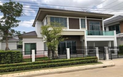 For Sale - express! Single house in Rama 9-Krungthep Kreetha area, 4 bedrooms, 3 bathrooms, usable area of 175 sq m, 2 floors for sale 9 cubic meters @LINE: 0962215326 Khun On