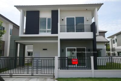 For Sale - express! Single house, AP CENTRO project, Chaiyapruek, Chaengwattana, 4 bedrooms, 3 bathrooms, usable area of 175 sq m, area 57. 30 sq m, 2 floors, sale 6. 9 MB @LINE: 0962215326 Khun Khai