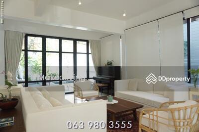 ขาย - ขายบ้านเดี่ยว เอกมัย แต่งสวย พร้อมอยู่ หรือทำธุรกิจ สุขุมวิท 65 ซอยชัยพฤกษ์ 063-9803555