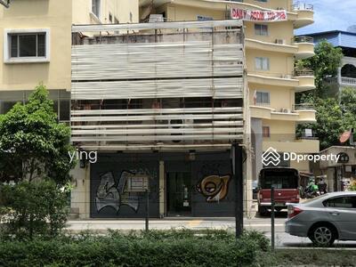 ขาย - ขาย อาคารพานิชย์ 2 คูหา ตรงข้าม ปากซอยทองหล่อ