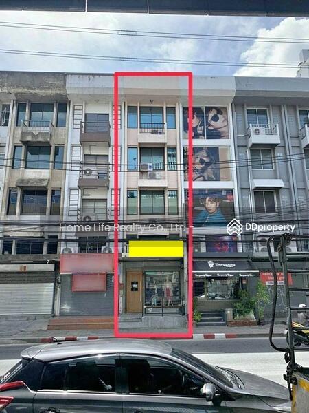 ให้เช่า อาคารพาณิชย์ 4 ชั้นครึ่ง ติดถนนรัชดาภิเษก #81424823