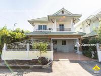 ขาย - ขายด่วนบ้านเดี่ยว 2 ชั้น หมู่บ้านทองสถิตย์ 9 วัชรพล-เพิ่มสิน บ้านหลังมุม หน้าสวน ราคาต่ำกว่าตลาด สภาพ 95%