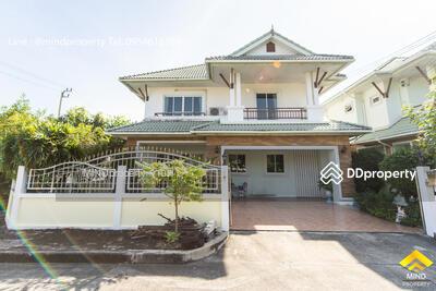 For Sale - ขายด่วนบ้านเดี่ยว 2 ชั้น หมู่บ้านทองสถิตย์ 9 วัชรพล-เพิ่มสิน บ้านหลังมุม หน้าสวน ราคาต่ำกว่าตลาด สภาพ 95%