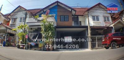 For Sale - บ้านแฝด 2 ชั้น 16. 3 ตร. ว. หมู่บ้านสวนทองวิลล่า ซอยรามอินทรา40 ถนนรามอินทรา - 41372