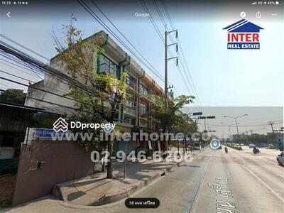 For Sale - Commercial building 4 floors 22 sq. w. Close to Nida University Soi Serithai 16-18, Serithai Road - 40991