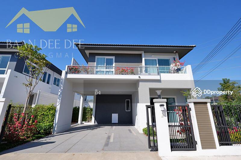 บ้านในโครงการมีระดับ คุณภาพทางสังคมที่ดี ให้เช่าเดือนละ 30,000 บาท เดินทาง 10 นาทีเข้าเมือง No.6H063 #81616615