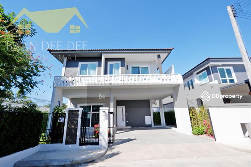 บ้านในโครงการมีระดับ คุณภาพทางสังคมที่ดี ให้เช่าเดือนละ 38,000 บาท เดินทาง 10 นาทีเข้าเมือง No.6H064 #81622759