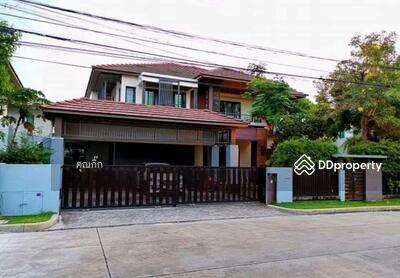 For Sale - R059-245  ขายถูก บ้านเดี่ยวเศรษฐสิริ บ้านหรูหลังใหญ่ชัยพฤกษ์-แจ้งวัฒนะ  #หลังใหญ่สวยหรู #หลังมุม ขนาด 104 ตรว. ตกแต่ง บิ้วอินทั้งหลัง สภาพใหม่ คุ้ม