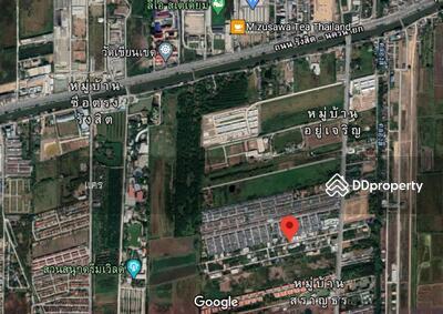 For Sale - R-050-022 ขายที่ดินเปล่า 100 ตรว. ลำลูกกา-ธัญบุรีคลอง 4 ราคา 2, 450, 000 บาท
