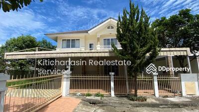For Rent - Code KRE X631, large house, shady, near Charoen Charoen Market, San Kamphaeng Line, Chiang Mai, 4 bedrooms, 3 bathrooms, living area 200 sq m, 2 floors, rent 15000 baht @LINE: 0835029312 Khun Omelet