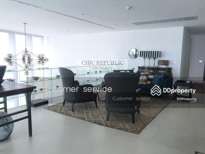 ขาย - CRP-S9-DM-640057 For Sale, The River, Duplex Penthouse, size 637 Sq. m. 6 bed 5 bath, Fully Furnished, Nearby BTS Surasak only 5 minutes by car.