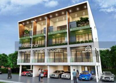 ขาย - ขายทาวน์โฮมสร้างใหม่ 4 ชั้น เหมาะอยู่อาศัยและทำสำนักงาน