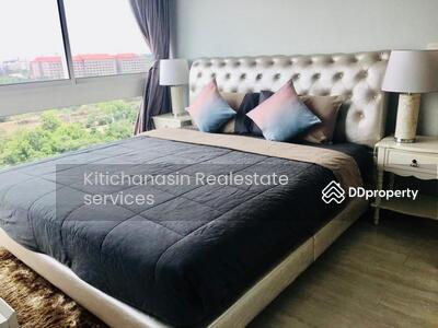 ให้เช่า - รหัส KRE W1840 Veranda Residence Pattaya แบบ 3ห้องนอน 2ห้องน้ำ พท. ใช้สอย 90. 99 ตร. ม ชั้น 10  เช่า 35000 บาท @LINE:0921807715 คุณ มิ้ว