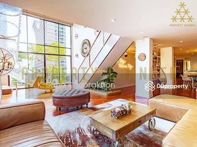 For Rent - (S-C1839) Luxury 6 Beds Duplex in Phloen Chit For Rent (Benviar Tonson Residence)