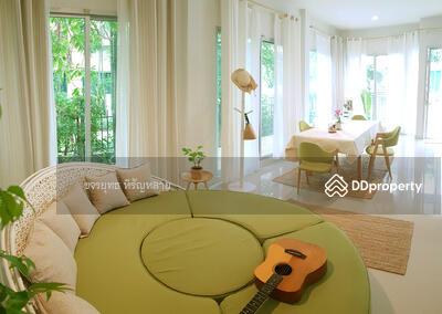 For Sale - ขายบ้านลด7แสน เจ้าของขายเอง แอร์ครบแต่งเต็มใกล้ เมกาบางนา หลังมุม