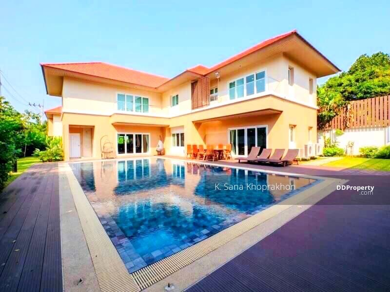 (S-CO-239) BEAUTIFUL 5 BEDROOMS HOUSE WITH PRIVATE POOL FOR SALE AT NICHADA THANI #82701527