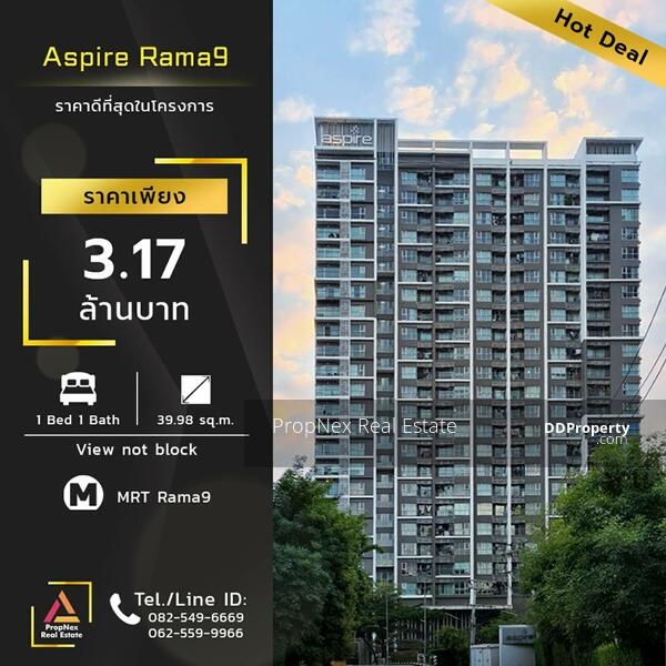 For Sale At Aspire Rama9 1 Bedroom 1 Bathroom 3 1700 000thb Fully Furnished Code K 0014 Soi Rama 9 Rama 9 Road Huai Khwang Huai Khwang Bangkok 1 Bedroom 39 Sqm Condos For Sale By Propnex Real Estate 3 170 000 8542656