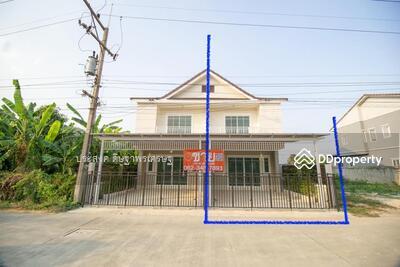For Sale - ขาย บ้านลำลูกกา ทาวน์เฮ้าส์ 2 ชั้น ซ. เลียบคลองสาม 8(สายไหม 6) คลองสาม จ. ปทุมธานี