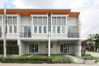 For Sale - Code KRE X1222 Townhome Golden town Ladprao Kaset - Nawamin, 4 bedrooms, 3 bathrooms, area of 131 sq m, 2 floors, 3. 59 MB. @LINE: 0962215326 Khun Kae