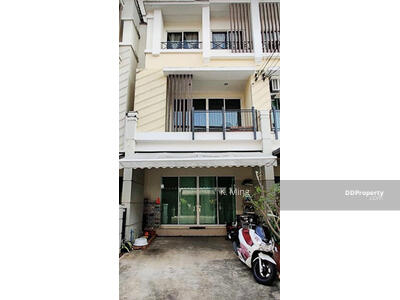 For Sale - For Sale,  Town House 3 Floors. Very Cheap, Size  85. 2  Sq. m. , Chic Decoration - Baan Klang Muang Kaset-Nawamin 2.