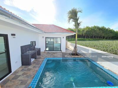 For Sale - Outstanding value mountain view pool villa for retirement, holiday or investment, superbly located just 8 kilometers from Khao Tao Beach.