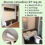 รหัส KRE A453 Dcondo Tann Charan  แบบ 1ห้องนอน 1ห้องน้ำ พท. ใช้สอย 27 ตร. ม  ชั้น XX เช่า 7, 500 บาท @LINE:0932181290 คุณ เก๊ะ