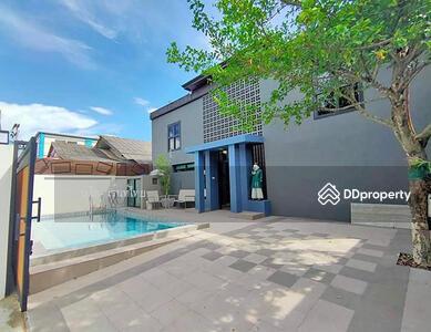 ให้เช่า - AA0648 ให้เช่าบ้านเดี่ยว พร้อมสระว่ายน้ำใกล้เมือง 4 ห้องนอน 5ห้องน้ำ พื้นที่ 55 ตร. ว.